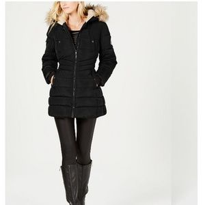 Madden Girl Long Shin Length Winter Coat